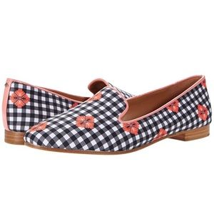 NEW Kate Spade New York Lounge Gingham Shoes